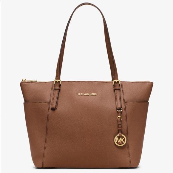 MICHAEL Michael Kors Handbags - MICHAEL Michael Kors Jetset Saffiano Leather Bag